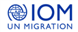 International Organization for Migration's logo takes you to their list of jobs