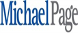 Michael Page's logo takes you to their list of jobs